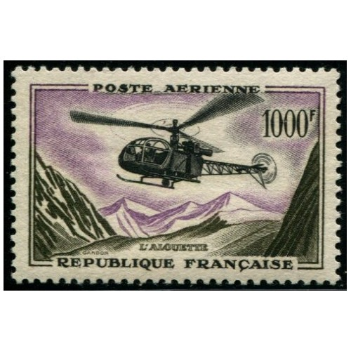 Poste Aérienne N°37