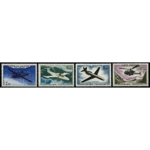 Poste Aérienne N°38-41