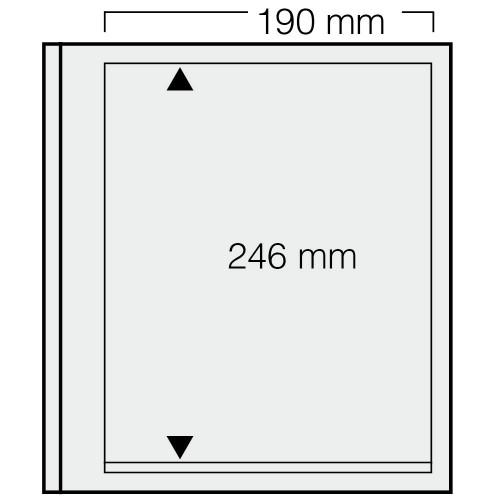 """Feuilles """"Spécial Dual""""- 1 Bloc - 246mm - Paquet de 5"""