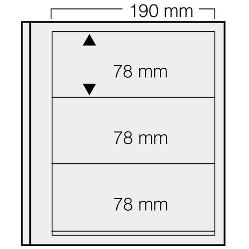 """Feuilles """"Spécial Dual""""- 3 Bandes - 78mm - Paquet de 5"""
