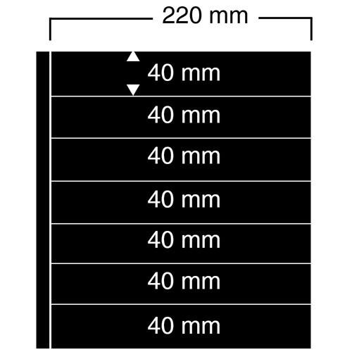 "Feuilles ""Compact A4"" - 7 Bandes - Paquet de 10"