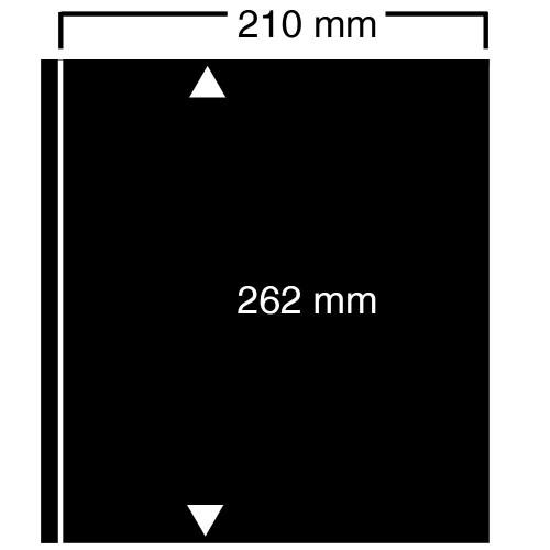 """Feuilles """"Compact A4"""" - ClipFix - 1 Poche - Paquet de 10"""