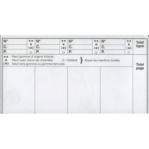 RECHARGE CARNET A CHOIX (x100)