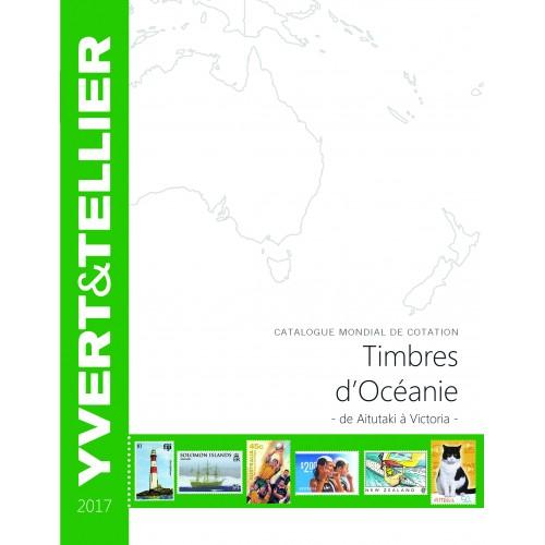 Timbres d'Océanie - 2017 - de Aitutaki à Victoria