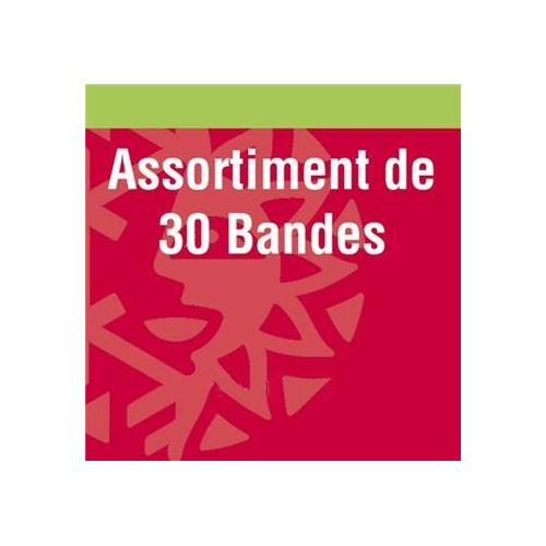 Assortiment de 30 bandes simple soudure