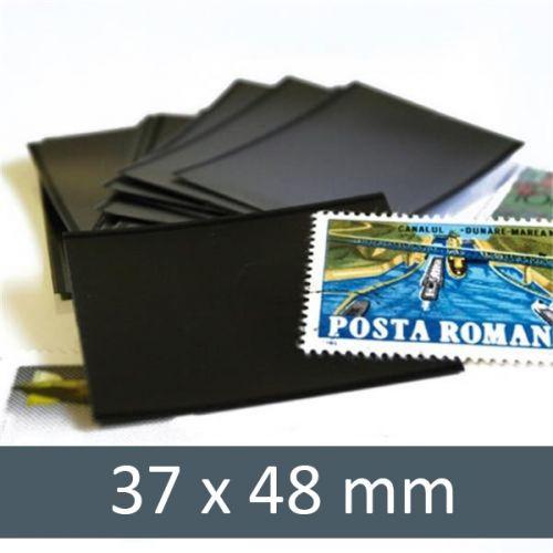 Pochettes double soudure - Lxh:37x48mm (Fond noir)