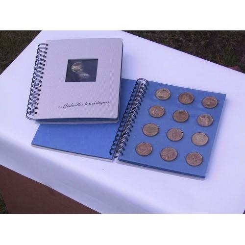 Classeurs à spirales - Monnaie de Paris - 48 médailles - SAFE