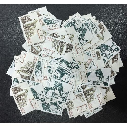 Lot de faciale 100 timbres à 2,90 Francs
