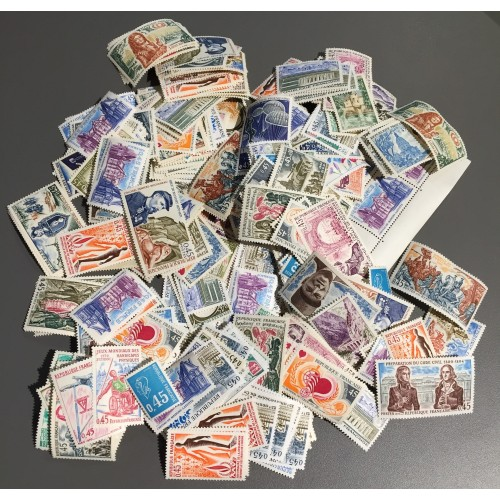 Lot de faciale 100 timbres à 1 Franc pour Affranchissement