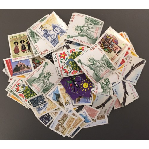 Lot de faciale 100 timbres de 0,90€ (90€)