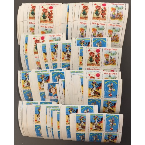 Lot de faciale 100 timbres de 1,84€ (184€)