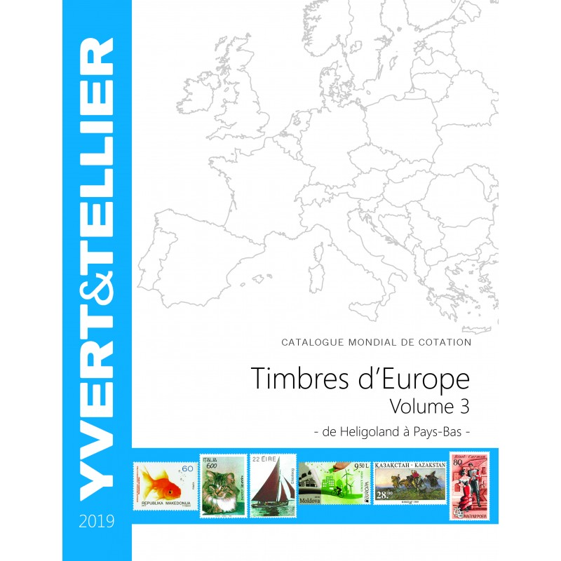Timbres d'Europe -TOME 2019 - Volume 2 - C à G