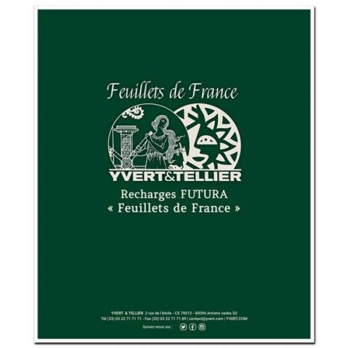 """Recharges """"Feuillets de France"""""""