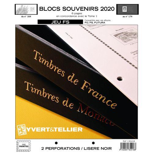 Jeux FS Blocs Souvenirs France - 2006 à Aujourd'hui