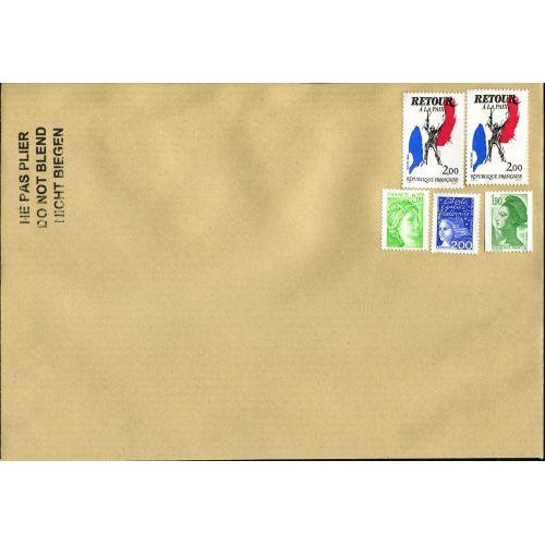 100 Lettres prioritaires internationales 20g - Pack de timbre pour affranchissement