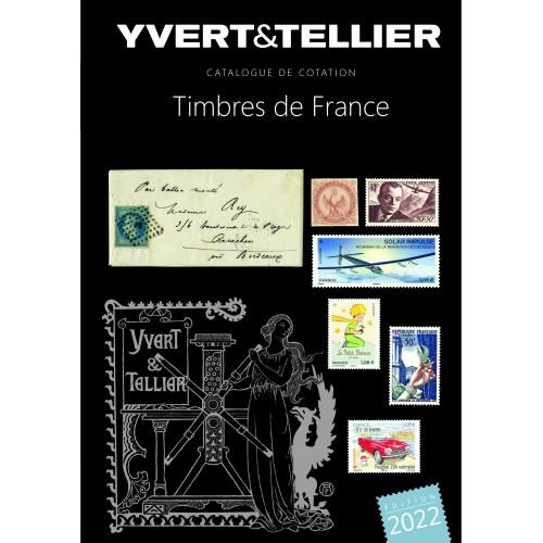 Catalogue des timbres de France 2022