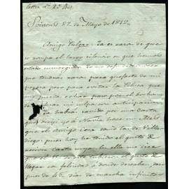 Correspondances des Prisonniers de Guerre 1750-1814 (lot 8092 à 8128)